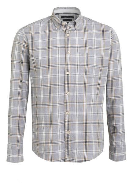 Marc O'Polo Hemd Regular Fit , Farbe: GRAU/ WEISS/ BEIGE KARIERT (Bild 1)