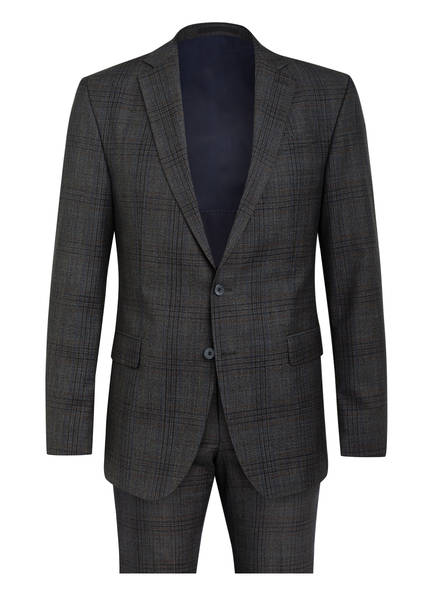 strellson Anzug RICK-JANS Regular Fit, Farbe: DUNKELGRAU (Bild 1)