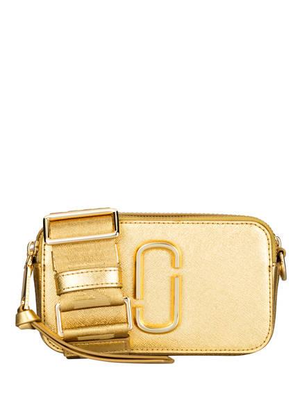MARC JACOBS Saffiano-Umhängetasche SNAPSHOT, Farbe: GOLD (Bild 1)