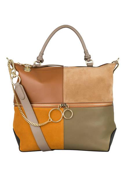 SEE BY CHLOÉ Handtasche EMY L, Farbe: LUMINOUS OCHRE (Bild 1)