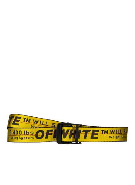 OFF-WHITE Gürtel INDUSTRIAL , Farbe: GELB/ SCHWARZ (Bild 1)