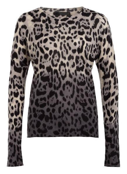 360CASHMERE Cashmere-Pullover, Farbe: WEISS/ HELLGRAU/ SCHWARZ (Bild 1)