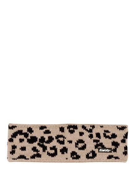 Eisbär Stirnband LEORA, Farbe: HELLBRAUN/ SCHWARZ (Bild 1)
