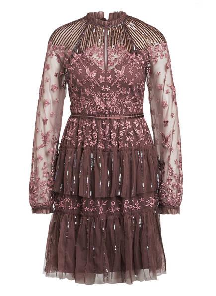 needle & thread Kleid STARLING mit Paillettenbesatz, Farbe: ALTROSA (Bild 1)