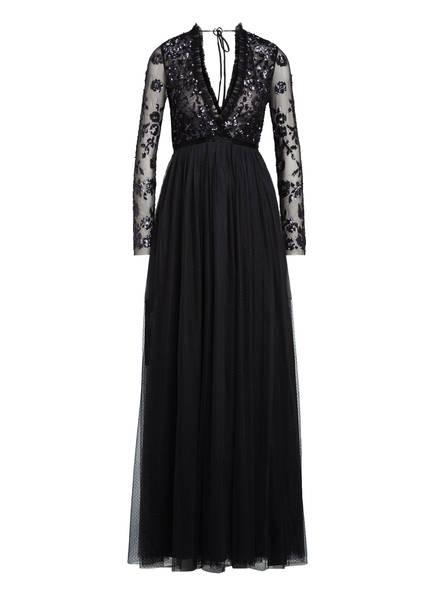 needle & thread Abendkleid AVA BODICE mit Paillettenbesatz, Farbe: DUNKELGRAU (Bild 1)