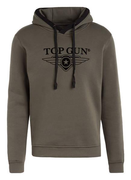 TOP GUN Hoodie, Farbe: OLIVE (Bild 1)