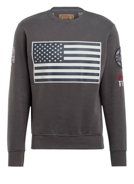 TOP GUN Sweatshirt , Farbe: DUNKELGRAU (Bild 1)