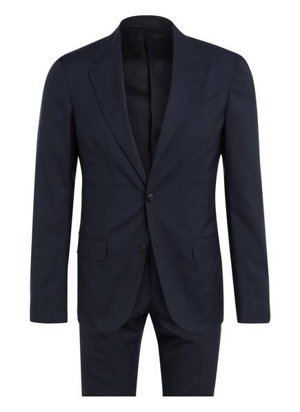 ZZegna Anzug DROP 8 Slim Fit, Farbe: DUNKELBLAU/ SCHWARZ (Bild 1)