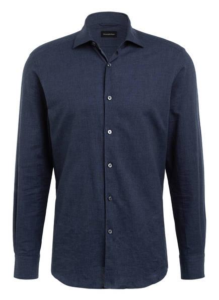 Ermenegildo Zegna Hemd BATISTA Slim Fit, Farbe: DUNKELBLAU (Bild 1)