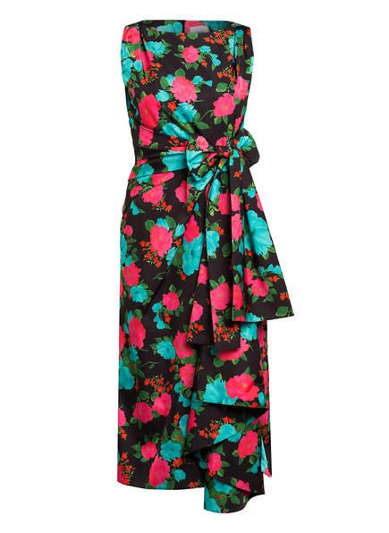 Erdem Kleid ROZARIA, Farbe: SCHWARZ/ PINK/ TÜRKIS (Bild 1)