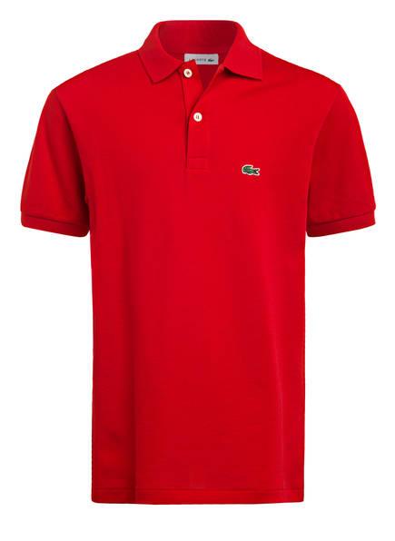 LACOSTE Piqué-Poloshirt, Farbe: ROT (Bild 1)