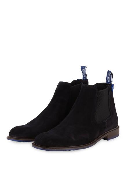 Floris van Bommel Chelsea-Boots, Farbe: DUNKELBLAU (Bild 1)