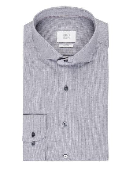 ETERNA Jerseyhemd Slim Fit, Farbe: DUNKELGRAU/ WEISS (Bild 1)