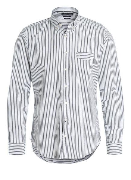 Marc O'Polo Hemd Regular Fit, Farbe: GRAU/ WEISS GESTREIFT (Bild 1)