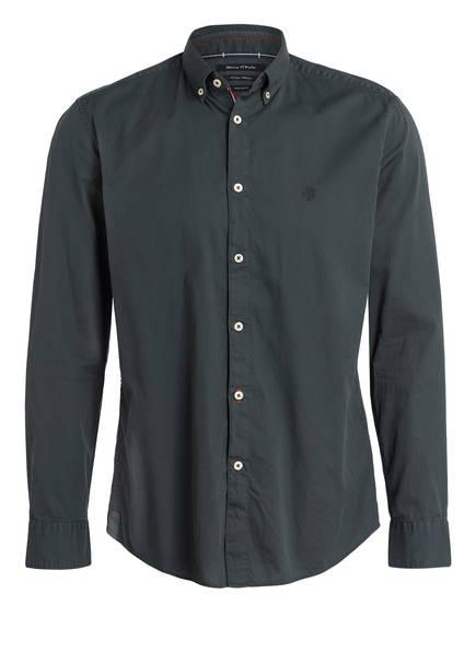 Marc O'Polo Hemd Shaped Fit, Farbe: GRÜN (Bild 1)