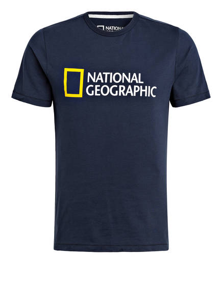 NATIONAL GEOGRAPHIC T-Shirt, Farbe: NAVY (Bild 1)