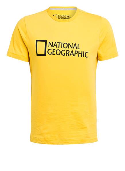 NATIONAL GEOGRAPHIC T-Shirt, Farbe: GELB (Bild 1)