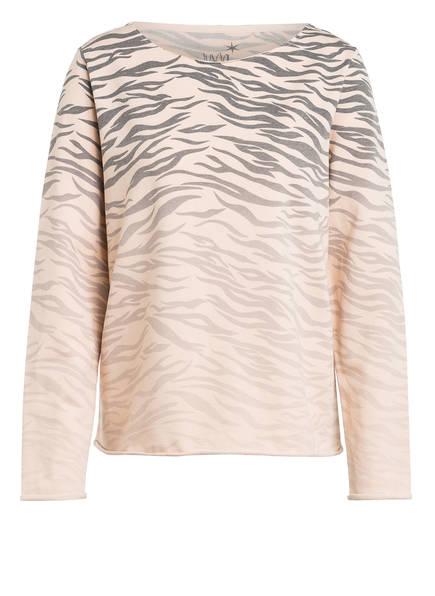 Juvia Sweatshirt , Farbe: NUDE/ GRAU (Bild 1)