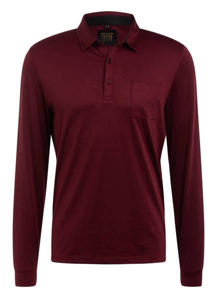 pierre cardin Jersey-Poloshirt , Farbe: DUNKELROT (Bild 1)
