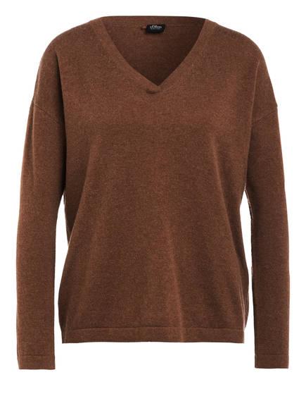 s.Oliver BLACK LABEL Pullover, Farbe: HELLBRAUN (Bild 1)