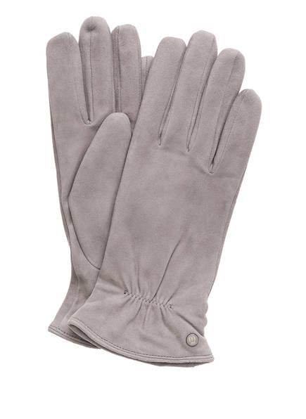 ROECKL Lederhandschuhe KLASSIKER, Farbe: GRAU (Bild 1)