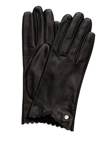 ROECKL Lederhandschuhe PRECIOUS CUT, Farbe: SCHWARZ (Bild 1)