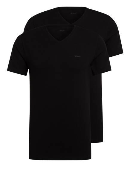 JOOP! 2er-Pack V-Shirts, Farbe: SCHWARZ (Bild 1)