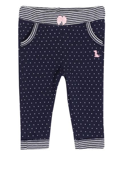 Sanetta FIFTYSEVEN Sweatpants, Farbe: DUNELBLAU/ WEISS (Bild 1)
