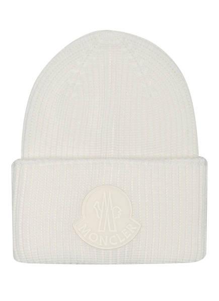 MONCLER Wollmütze, Farbe: CREME (Bild 1)