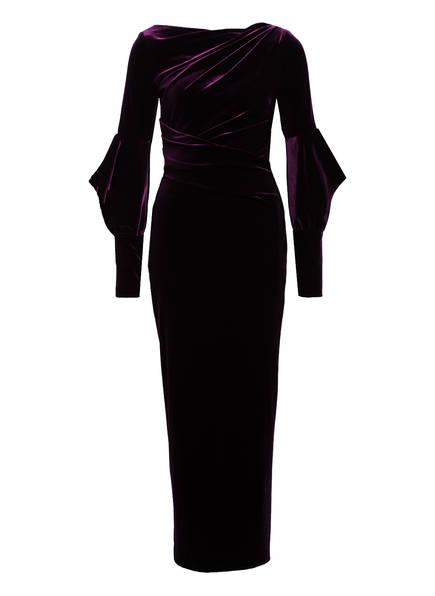 TALBOT RUNHOF Samt-Abendkleid ROSIA2 , Farbe: 870 LILA SAMT (Bild 1)