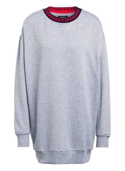 DKNY Lounge-Shirt, Farbe: GRAU MELIERT (Bild 1)