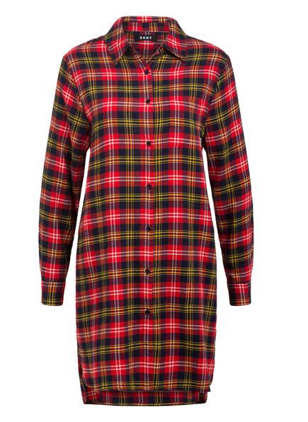 DKNY Nachthemd , Farbe: ROT/ DUNKELBLAU (Bild 1)