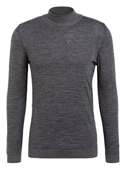Lufian Pullover, Farbe: DUNKELGRAU MELIERT (Bild 1)