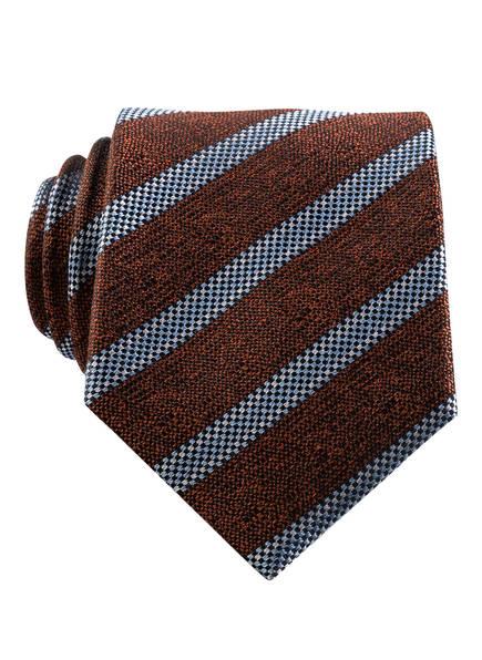 BENVENUTO Krawatte , Farbe: BRAUN/ HELLBLAU (Bild 1)