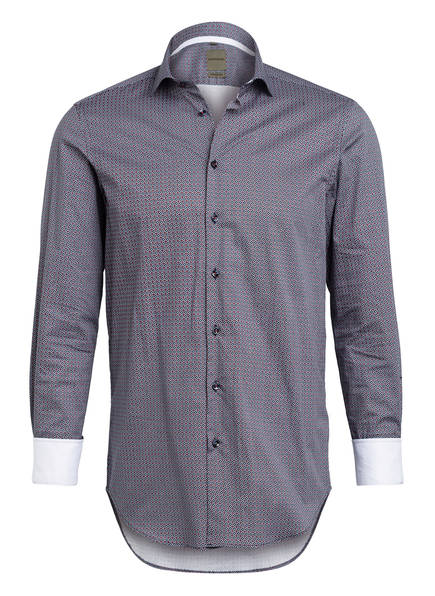 BENVENUTO Hemd BARROW Modern Fit, Farbe: DUNKELBLAU/ LILA (Bild 1)