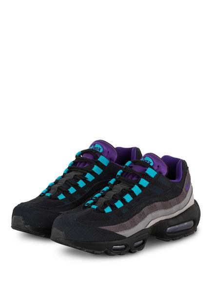 Nike Sneaker Air Max 95 LV8, Farbe: LILA/ SCHWARZ/ HELLBLAU (Bild 1)