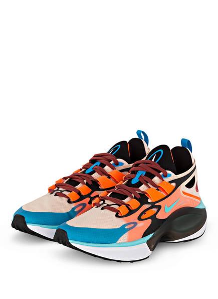 Nike Sneaker SIGNAL D/MS/X, Farbe: BLAU/ WEISS/ ORANGE (Bild 1)