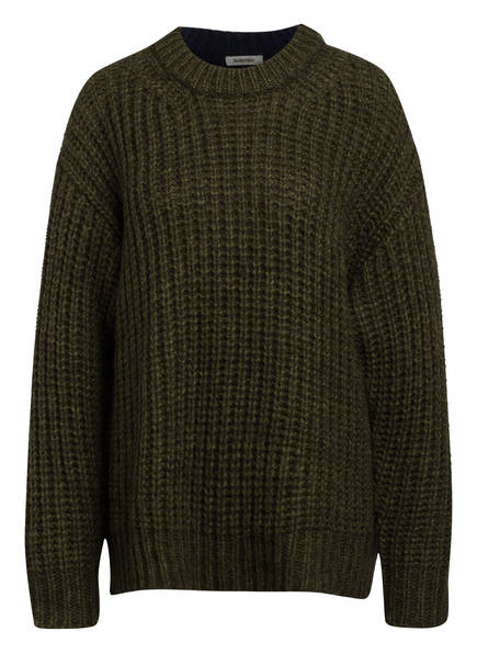 SEE BY CHLOÉ Pullover, Farbe: OLIVE/ DUNKELBLAU (Bild 1)