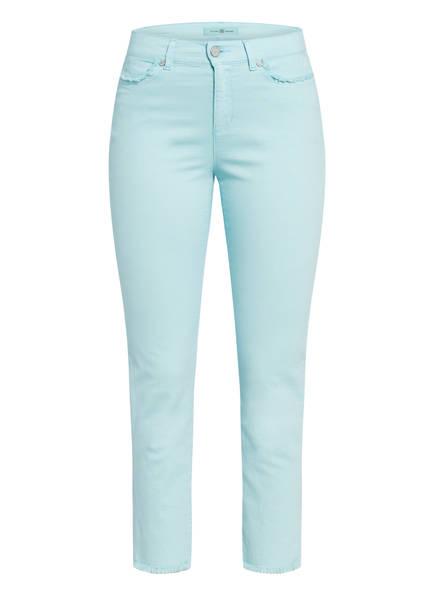 RIANI 7/8-Jeans CIGARETTE, Farbe: AQUA LIGHT BLUE (Bild 1)