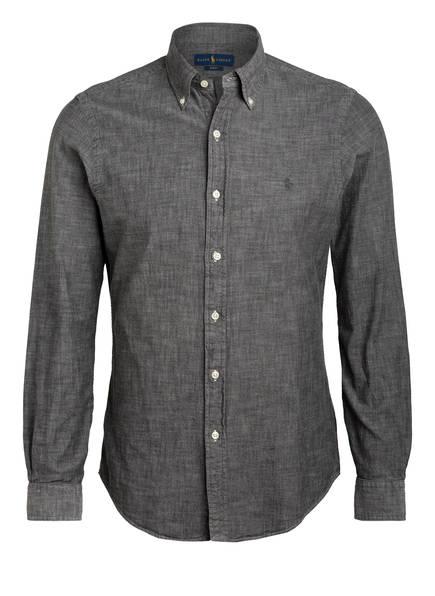 POLO RALPH LAUREN Hemd Slim Fit, Farbe: GRAU (Bild 1)
