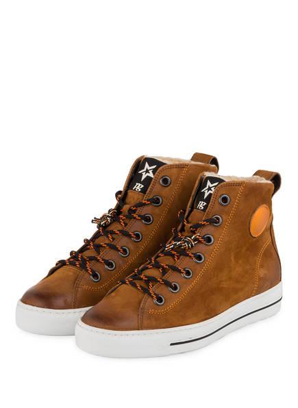 Paul Green Sneaker in Farbe cognac günstig online kaufen