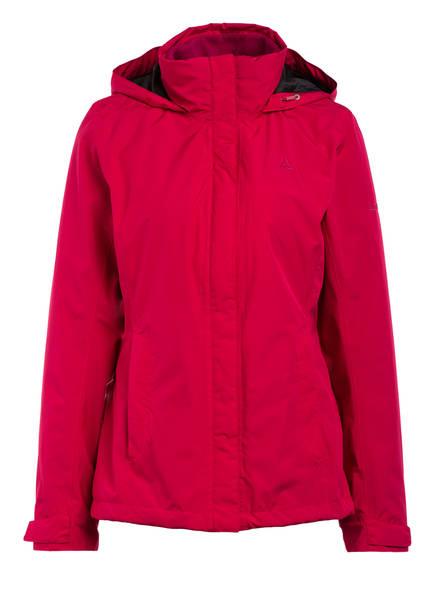 Schöffel 3-in-1-Jacke TIGNES , Farbe: BEERE (Bild 1)