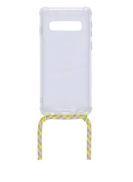 xouxou Smartphone-Hülle, Farbe: TRANSPARENT/ NEONGELB/ HELLGRAU (Bild 1)