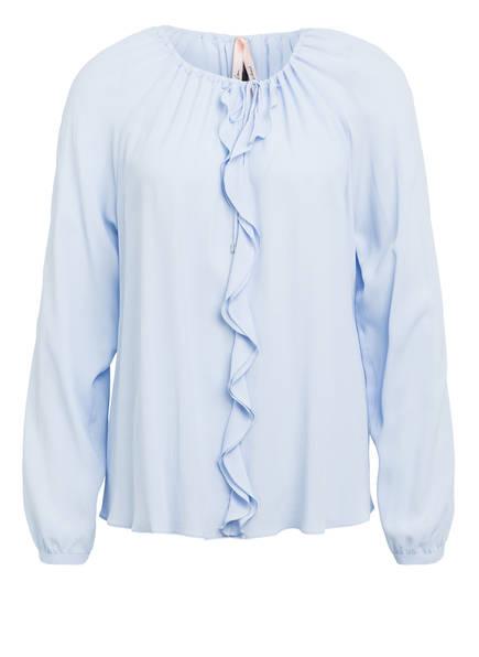 MARCCAIN Bluse mit Seide, Farbe: 318 SEAVIEW (Bild 1)