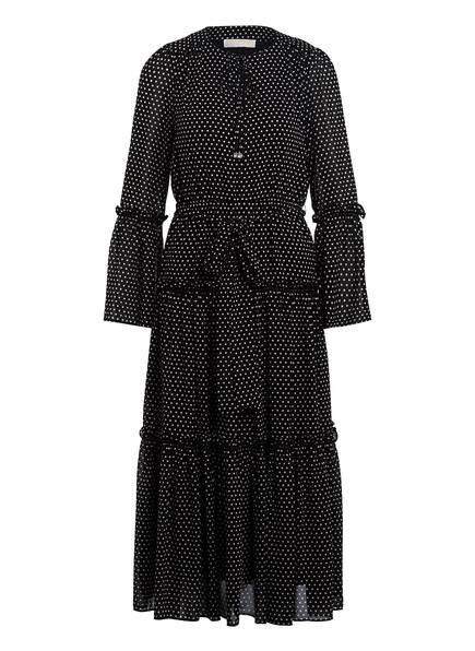MICHAEL KORS Kleid, Farbe: SCHWARZ/ WEISS GEPUNKTET (Bild 1)