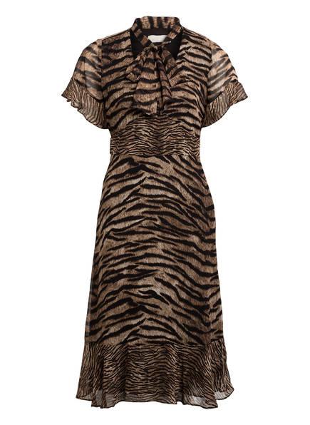 MICHAEL KORS Kleid, Farbe: SCHWARZ/ CAMEL (Bild 1)