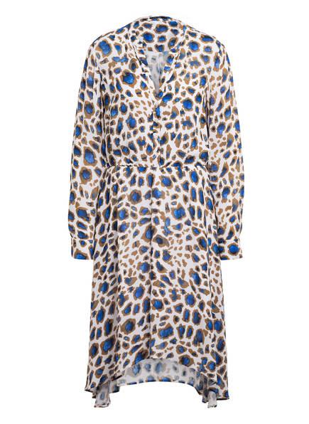 MARC AUREL Kleid, Farbe: WEISS/ COGNAC/ BLAU (Bild 1)