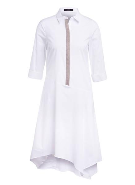STEFFEN SCHRAUT Kleid mit Schmucksteinbesatz , Farbe: WEISS (Bild 1)