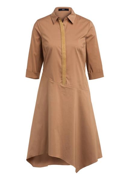 STEFFEN SCHRAUT Kleid mit Schmucksteinbesatz , Farbe: CAMEL (Bild 1)