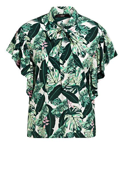 STEFFEN SCHRAUT Blusenshirt aus Seide, Farbe: GRÜN/ CREME (Bild 1)